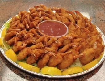 Butterfly Fried Shrimp Platter