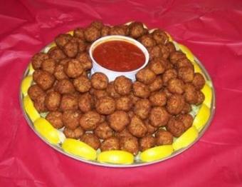 Crab Balls Platter