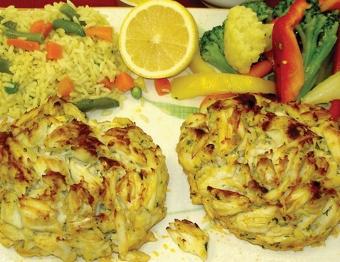 Jumbo Lump Crab Cake Platter