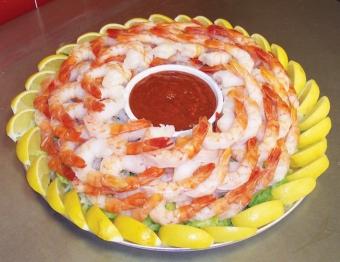 Shrimp Cocktail Platter